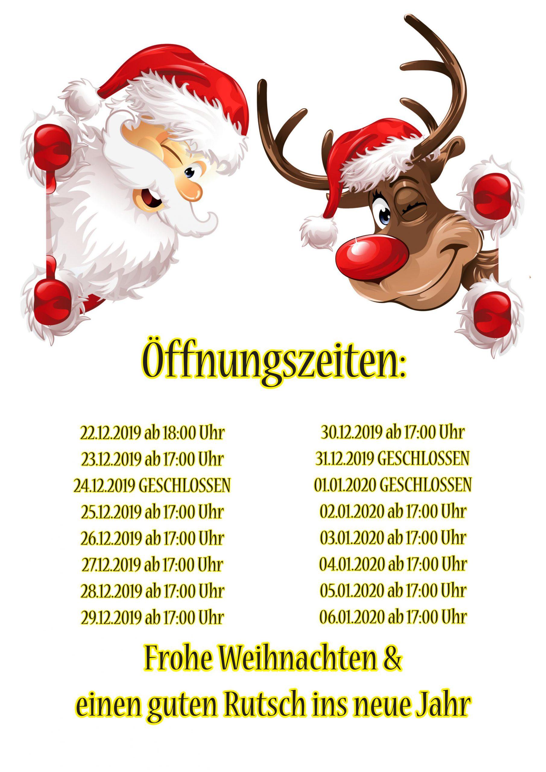 Carambolage Weihnachtszeiten